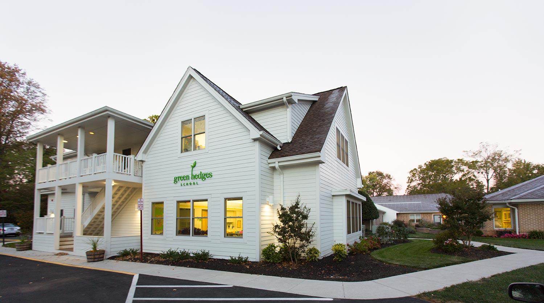 green-hedges-school-building